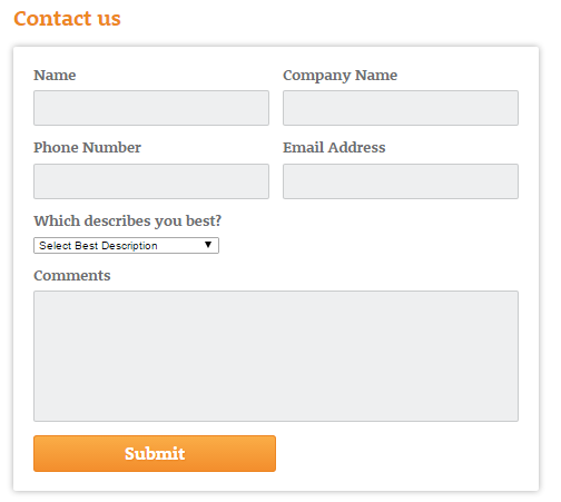 contact form best practices