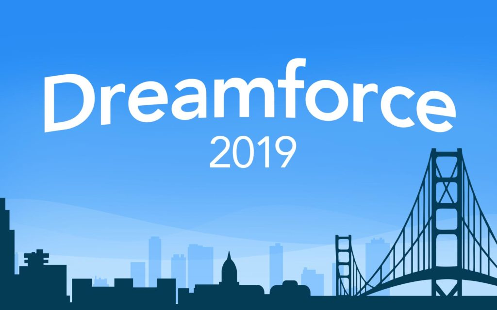 Image result for salesforce dreamforce 2019 logo