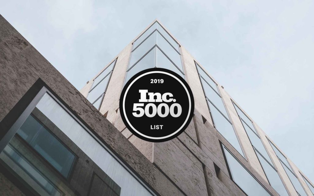 Inc. 5000 2019 List Logo - FormAssembly