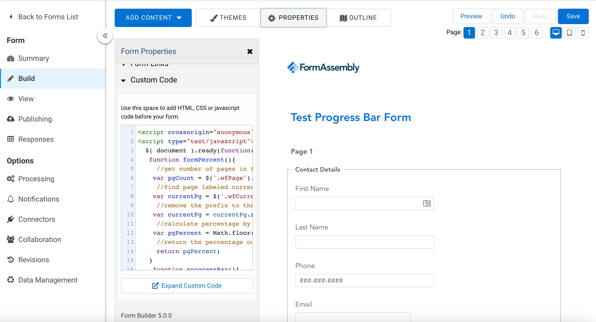 1-progress-bar-form-custom-code